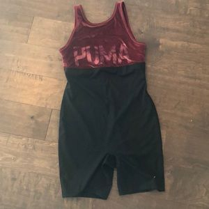 Puma one piece workout outfit